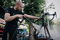post-race bike cleaning<br /> <br /> 104th Tour de France 2017<br /> Stage 4 - Mondorf-les-Bains &rsaquo; Vittel (203km)