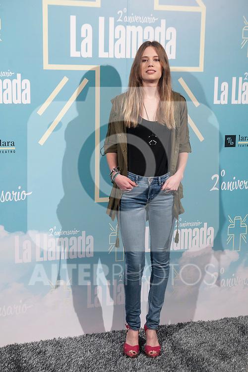 Arancha Marti attends La Llamada theater play in Madrid, Spain. April 15, 2015. (ALTERPHOTOS/Victor Blanco)
