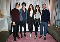 """LOS ANGELES, CA - JUNE 21: Hayden Szeto, Ian Nelson, Analeigh Tipton, Victoria Justice, Joseph Cross, at 2019 Rom Com Fest Los Angeles - """"Summer Night"""" at Downtown Independent in Los Angeles, California on June 21, 2019. Credit: Faye Sadou/MediaPunch"""