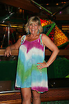 Kim Zimmer - Guiding Light Actors dress up for the Captain's Dinner aboard Carnival's Glory - Day 2 - August 1, 2010 - So Long Springfield at Sea - (Photos by Sue Coflin/Max Photos)