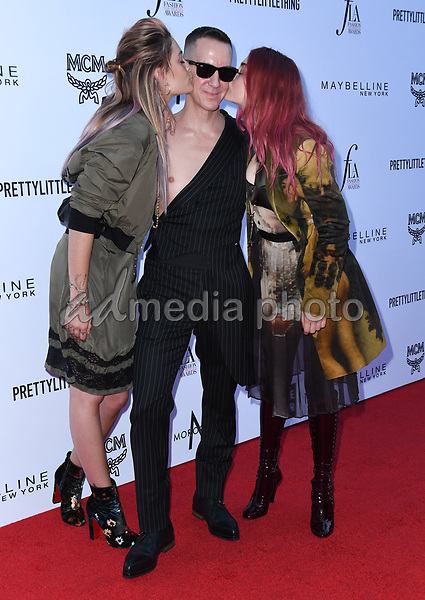 08 April 2018 - Beverly Hills, California - Paris Jackson, Jeremy Scott, Frances Bean Cobain. The Daily Front Row's 4th Annual Fashion Los Angeles Awards held at The Beverly Hills Hotel. Photo Credit: Birdie Thompson/AdMedia