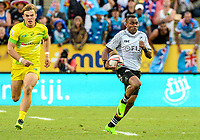 Action from the 2018 HSBC World Sevens Series Hamilton pool match between Australia and Fiji at FMG Stadium in Hamilton, New Zealand on Saturday, 3 February 2018. Photo: Sarah Lord / lintottphoto.co.nz