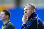 St Johnstone v Kilmarnock....02.04.11 .Caretaker Kilmarnock manager Kenny Shiels.Picture by Graeme Hart..Copyright Perthshire Picture Agency.Tel: 01738 623350  Mobile: 07990 594431