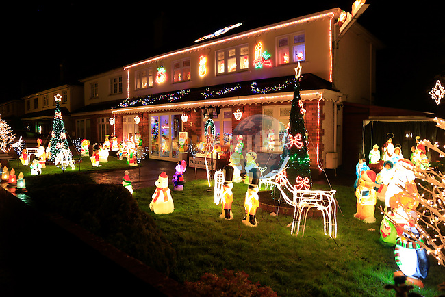 Christmas Lights Around the town<br /> Picture www.newsfile.ie