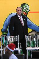 SAO PAULO, SP, 19.12.2013 - EXPO-CATADORES / DILMA ROUSSEFF - O deputado federal Paulo Maluf (PP-SP) durante encontro com Catadores de Materiais Recicláveis e com População em Situação de Rua no Anhembi - Centro de Exposições Pavilhão Oeste na regiao norte de Sao Paulo , nesta quinta-feira, 19. (Foto: Vanessa Carvalho / Brazil Photo Press).