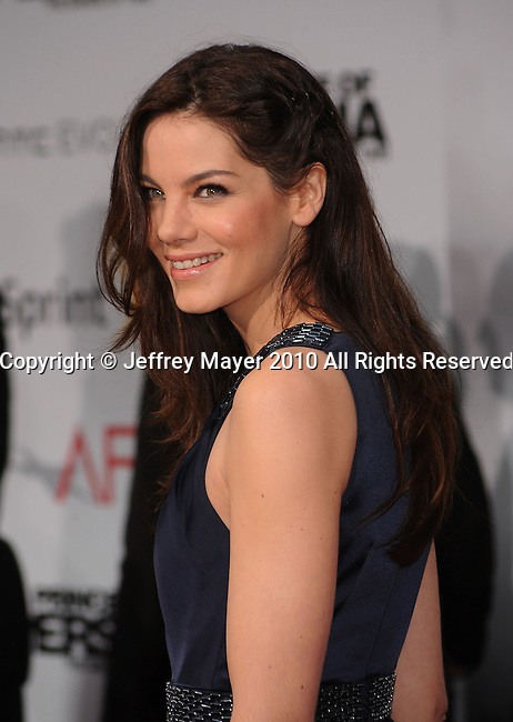 """HOLLYWOOD, CA. - May 17: Michelle Monaghan arrives at the """"Prince of Persia: The Sands of Time"""" Los Angeles Premiere held at Grauman's Chinese Theatre on May 17, 2010 in Hollywood, California."""