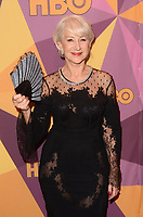 BEVERLY HILLS, CA - JANUARY 7: Helen Mirren at the HBO Golden Globes After Party, Beverly Hilton, Beverly Hills, California on January 7, 2018. <br /> CAP/MPI/DE<br /> &copy;DE//MPI/Capital Pictures