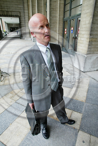 BRUSSELS - BELGIUM - 26 APRIL 2005 --Atle EIDE, CEO of PANFISH.-- PHOTO: ERIK LUNTANG / EUP-IMAGES..
