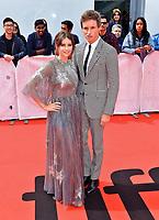 "08 September 2019 - Toronto, Ontario Canada - Felicity Jones, Eddie Redmayne. 2019 Toronto International Film Festival - ""The Aeronauts"" Premiere held at  Roy Thomson Hal. <br /> CAP/ADM/BPC<br /> ©BPC/ADM/Capital Pictures"