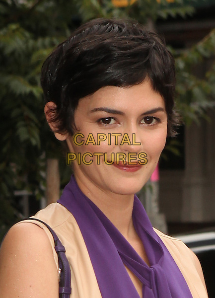 NEW YORK, NY - JULY 16: Audrey Tautou seen at the Mood Indigo film premiere in New York City on July 16 2014<br /> CAP/MPI/COR99<br /> &copy;COR99/MPI/Capital Pictures