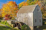 The Dexter Grist Mill  in Sandwich, Cape Cod, MA, USA