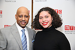 Ruben Santiago-Hudson and Azula Carmen Wilson attends August Wilson's 'Jitney' Broadway opening night after party at Copacabana on January 19, 2017 in New York City.