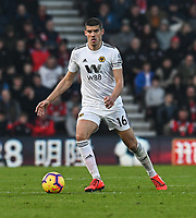 Wolverhampton Wanderers' Captain Conor Coady <br /> <br /> Photographer David Horton/CameraSport<br /> <br /> The Premier League - Bournemouth v Wolverhampton Wanderers - Saturday 23 February 2019 - Vitality Stadium - Bournemouth<br /> <br /> World Copyright © 2019 CameraSport. All rights reserved. 43 Linden Ave. Countesthorpe. Leicester. England. LE8 5PG - Tel: +44 (0) 116 277 4147 - admin@camerasport.com - www.camerasport.com