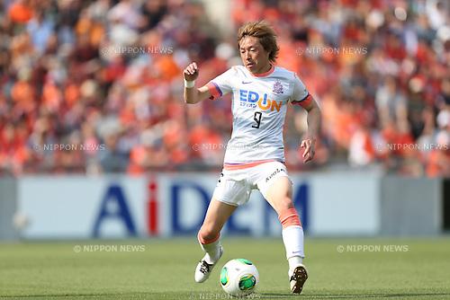 Naoki Ishihara (Sanfrecce),.MAY 6, 2013 - Football / Soccer :.2013 J.League Division 1 match between Omiya Ardija 2-1 Sanfrecce Hiroshima at NACK5 Stadium Omiya in Saitama, Japan. (Photo by Kenzaburo Matsuoka/AFLO)