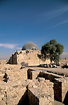 Jordan, Amman. Ruins on Citadel Hill&amp;#xA;<br />