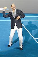 MADRI, ESPANHA, 14 DE MAIO 2012 - PREMIERE HOMENS DE PRETO III - O ator norte americano Will Smith durante per estréia do filme Homens de Preto III, em Madri capital da Espanha, na noite de ontem domingo, 13. (FOTO: MIGUEL CORDOBA / ALFAQUI / BRAZIL PHOTO PRESS).