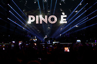 Claudio Baglioni performs during &quot;Pino &egrave;&quot; tribute concert at Pino Daniele, Italian singer dead in 2015,<br /> <br /> Naples 07 june 2018
