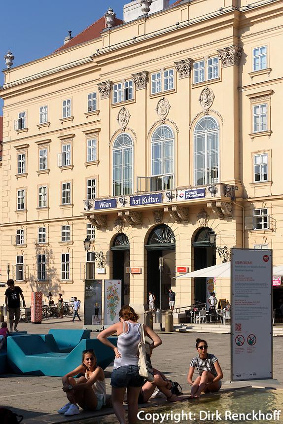 Im Museumsquartier, Wien, &Ouml;sterreich, UNESCO-Weltkulturerbe<br /> in the Museum Quarter, Vienna, Austria