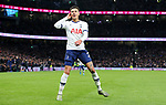 Tottenham's Dele Alli celebrates after he scores to make it 2-0 during the Premier League match at the Tottenham Hotspur Stadium, London. Picture date: 30th November 2019. Picture credit should read: Paul Terry/Sportimage