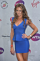 Daniela Hantuchova at WTA pre-Wimbledon Party at The Roof Gardens, Kensington on june 23rd 2016 in London, England.<br /> CAP/PL<br /> &copy;Phil Loftus/Capital Pictures /MediaPunch ***NORTH AND SOUTH AMERICAS ONLY***