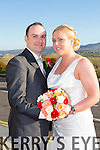 Lesley Harris, Tralee, daughter of Ann and John Harris, and William O'Callaghan, Killarney, son of Eugene and Eileen were married at St. Brendan's Church Tralee, by Fr. Padraig Walsh on Saturday 14th March 2015 with a reception at Ballyroe Heights Hotel