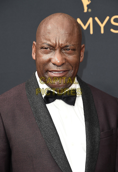 LOS ANGELES, CA - SEPTEMBER 18: John Singleton arrives at the 68th Emmy Awards at the Microsoft Theater on Sunday, September 18, 2016, in Los Angeles, California. <br /> CAP/MPI99<br /> &copy;MPI99/Capital Pictures