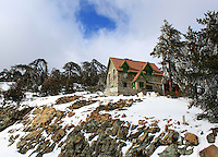 House on a beautiful snowy hill in Troodos<br />