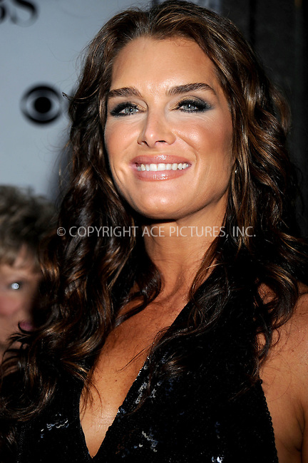 WWW.ACEPIXS.COM . . . . .....June 15, 2008. New York City,....Actress Brooke Shields arrives at the 62nd Annual Tony Awards held at Radio City Music Hall on June 15, 2008 in New York City...  ....Please byline: Kristin Callahan - ACEPIXS.COM..... *** ***..Ace Pictures, Inc:  ..Philip Vaughan (646) 769 0430..e-mail: info@acepixs.com..web: http://www.acepixs.com
