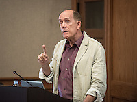 Douglas Gardner, assistant professor, Diplomacy & World Affairs. Gardner is the on-site faculty director of Oxy at the U.N.<br />