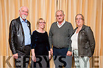 Representing O'Rahillys Villas were Eugene Murphy, Doreen McNamara, Michael White and Brid White  at the Tidy Tralee Together Awards night at Fels Point Hotel on Monday