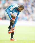 Nathan Oduwa reunited with his right boot