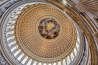 Rotunda US Capitol Washington DC Architecture