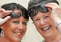 12/08/14  Optical Express competition winner, Adrienne Moore, left with her mother, Kathleen ..<br /> Balbriggan mum, Adrienne was so delighted with the results of her lens replacement surgery at Optical Express, that her mum, Kathleen also decided to undergo the procedure. They are both extremely happy with the results, especially Kathleen who had the onset of cataracts and was suffering from increasingly cloudy vision... Picture Colin Keegan, Collins Dublin.