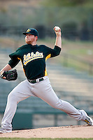 Brett Anderson - AZL Athletics - 2010 Arizona League. Anderson is making a rehab appearance in an Arizona League game against the Angels at Diablo Stadium, Tempe, AZ - 07/09/2010..Photo by:  Bill Mitchell/Four Seam Images..