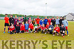 U13's B+C's teams at the St BRENDAN'S PARK FAMILY DAY BLITZ at Christy Leahy Park on Saturday