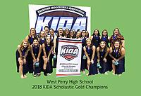 West Perry HS KIDA champion photos