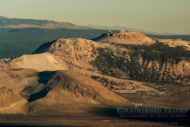 The volcanic Mono Craters; Eastern Sierra; Mono County; California