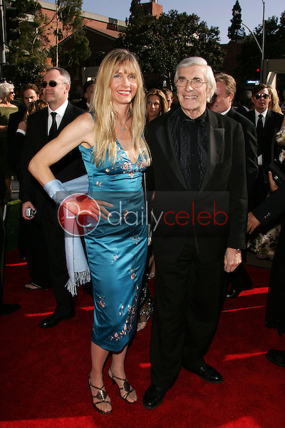 Martin Landau and friend<br /> Arriving at the 2005 Primetime Creative Arts Emmy Awards, Shrine Auditorium, Los Angeles, CA 09-11-05<br /> David Edwards/DailyCeleb.Com 818-249-4998