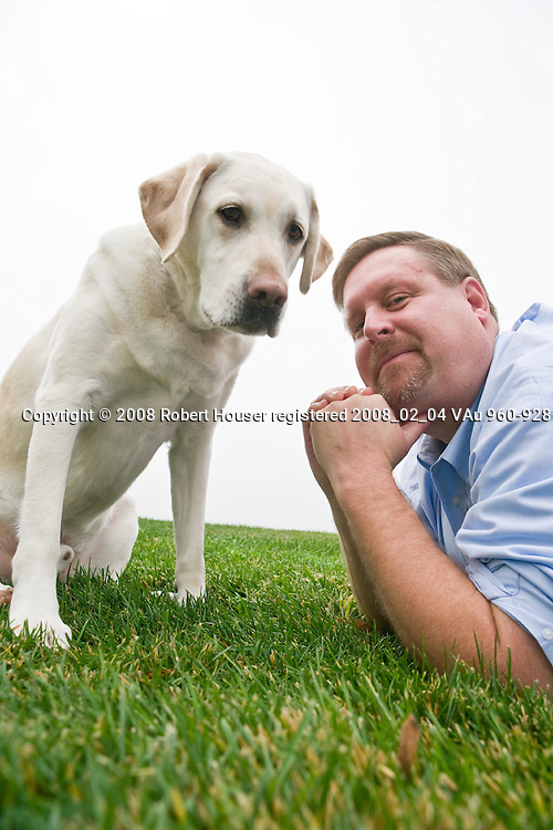 Mark Ruefenacht - Founder - Dogs4Diabetics: Executive portrait photographs by San Francisco - corporate and annual report - photographer Robert Houser.