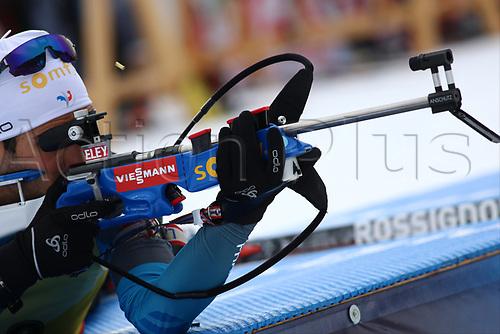 8th December 2017, Biathlon Centre, Hochfilzen, Austria; IBU Biathlon World Cup; Martin Fourcade