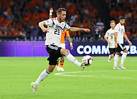 Mark Uth (Deutschland Germany) - 13.10.2018: Niederlande vs. Deutschland, 3. Spieltag UEFA Nations League, Johann Cruijff Arena Amsterdam, DISCLAIMER: DFB regulations prohibit any use of photographs as image sequences and/or quasi-video.