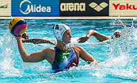 QUEIROLO Elisa ITA<br /> ITA (white cap) -  CAN (blue cap)<br /> Water Polo<br /> Day03  16/07/2017 <br /> XVII FINA World Championships Aquatics<br /> Alfred Hajos Complex Margaret Island  <br /> Budapest Hungary July 15th - 30th 2017 <br /> Photo @ Deepbluemedia/Insidefoto