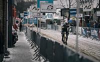 Yentl Bekaert (BEL/U23)<br /> <br /> U23 Men's Race<br /> CX Vlaamse Druivencross Overijse 2017
