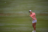 Danielle Kang (USA) chips in on 10 during round 1 of the U.S. Women's Open Championship, Shoal Creek Country Club, at Birmingham, Alabama, USA. 5/31/2018.<br /> Picture: Golffile   Ken Murray<br /> <br /> All photo usage must carry mandatory copyright credit (© Golffile   Ken Murray)