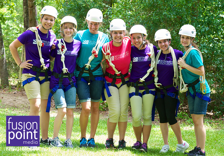 2013 Distinguished Young Women Camp Grace Ropes Course June 18, 2013