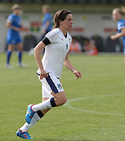 20180305 - LARNACA , CYPRUS : Italian Daniela Sabatino pictured during a women's soccer game between Finland and Italy , on monday 5 March 2018 at the AEK Arena in Larnaca , Cyprus . This is the third game in group A for Finland and Italy during the Cyprus Womens Cup , a prestigious women soccer tournament as a preparation on the World Cup 2019 qualification duels. PHOTO SPORTPIX.BE | DAVID CATRY