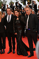 "CANNES, FRANCE. May 18, 2019: Jean Dujardin, Elsa Zylberstein & Christopher Lambert  at the gala premiere for ""The Most Beautiful Years of a Life"" at the Festival de Cannes.<br /> Picture: Paul Smith / Featureflash"
