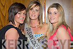 Laura O'Connor representing John O'Leary Roofing with friend Lorraine Kelliher and sister Noelle O'Connor at the 2008 Kerry Rose Selection in The Earl of Desmond Hotel on Saturday night...........   Copyright Kerry's Eye 2008