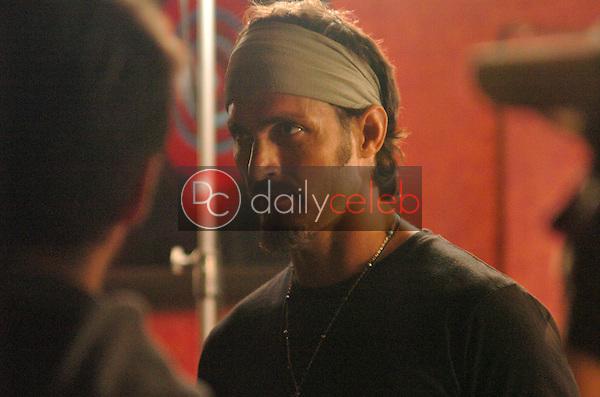 "Spiros Poros<br /> on the set of ""Killing Kowalski"", The Dime, West Hollywood, CA 09-24-05<br /> David Edwards/DailyCeleb.Com 818-249-4998"
