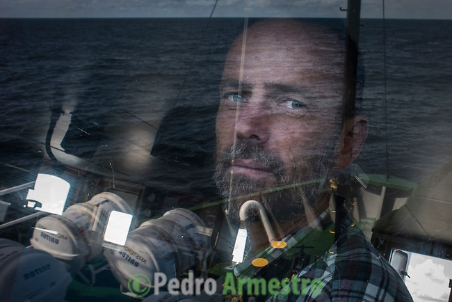 10/06/2016<br /> <br /> Traves&iacute;a hacia Svalbard a bordo del Arctic Sunrise<br /> <br /> Mike Fincken, Arctic Sunrise captain. &copy; Pedro Armestre/ Greenpeace Handout - No ventas -No Archivos - Uso editorial solamente - Uso libre solamente para 14 d&iacute;as despu&eacute;s de liberaci&oacute;n. Foto proporcionada por GREENPEACE, uso solamente para ilustrar noticias o comentarios sobre los hechos o eventos representados en esta imagen.<br /> &copy; Pedro Armestre/ Greenpeace Handout - No sales - No Archives - Editorial Use Only - Free use only for 14 days after release. Photo provided by GREENPEACE, distributed handout photo to be used only to illustrate news reporting or commentary on the facts or events depicted in this image.